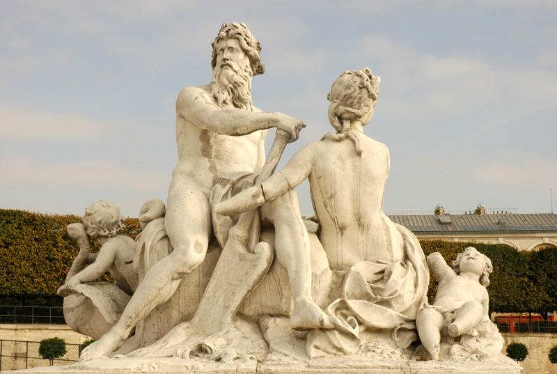 Paris 1er coustou seine et marne - Sculpture jardin des tuileries ...